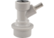 Ball Lock Gas In (WHITE) - Barb
