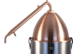 Still Top Distillation Conversion Kit with Copper Alembic Condenser